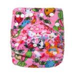 Pocket Nappy - Minky - Girly Wonderland