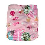 Pocket Nappy - Printed - Pink Forest