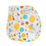 Pocket Nappy - Minky - Circles11