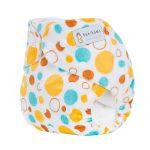 Pocket Nappy - Minky - Circles11