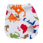 Pocket Nappy - Minky - Dinosaurs
