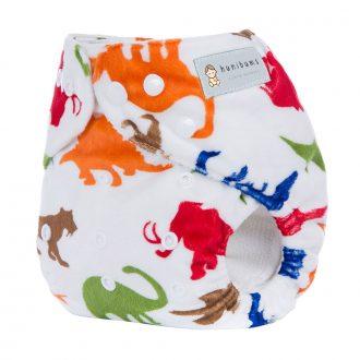 pocket-nappy-minky-cloth-nappy-dinosaurs